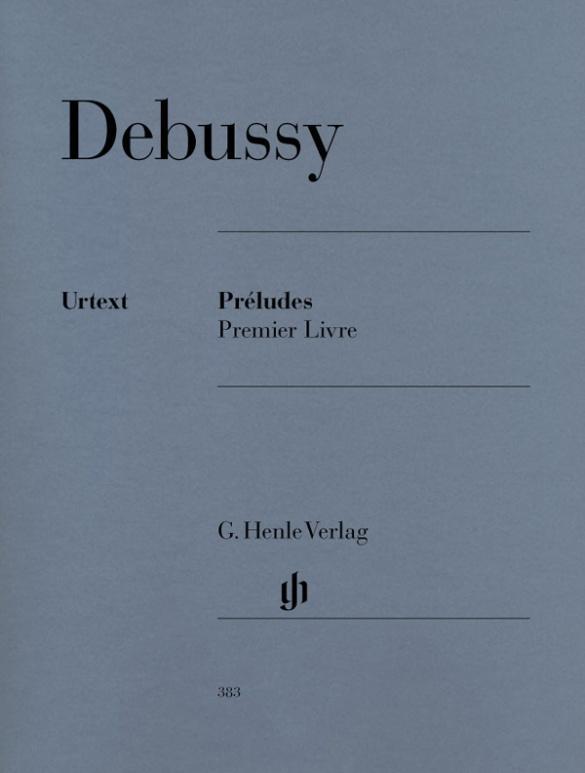 Préludes, 1er livre als Buch von Claude Debussy