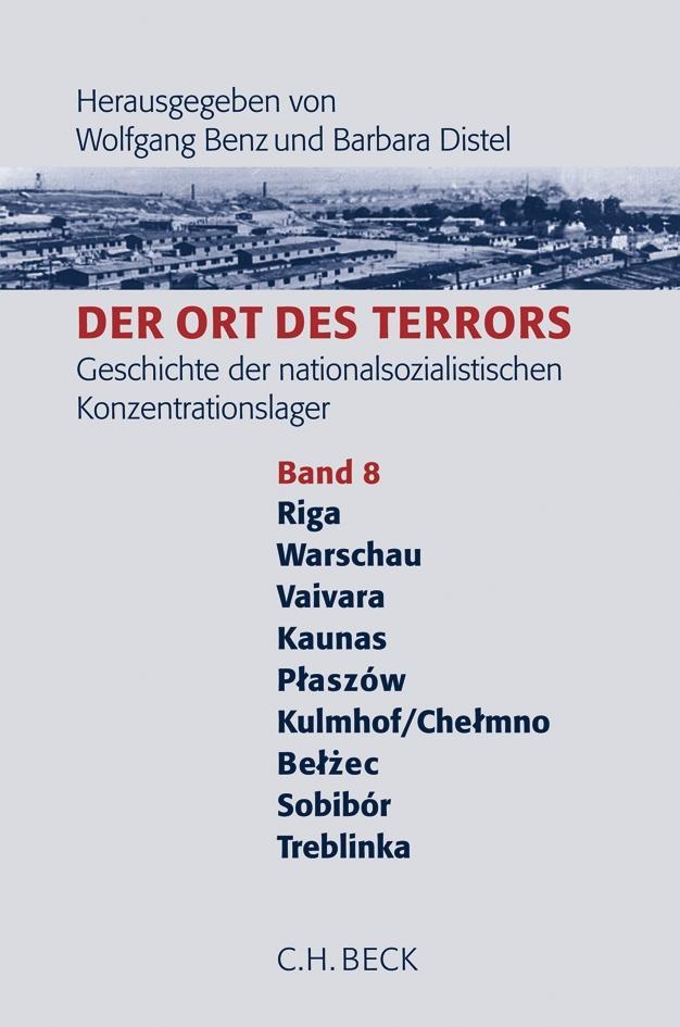Der Ort des Terrors 8 als Buch