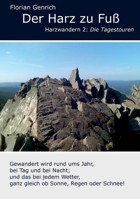 Der Harz zu Fuß als Buch