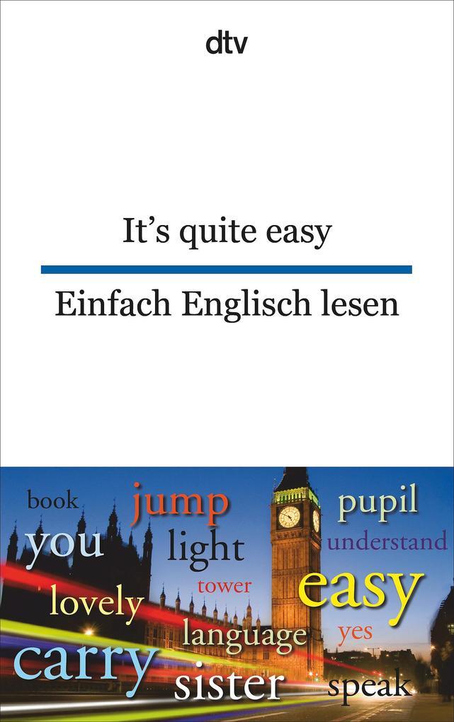 It's quite easy Einfach Englisch lesen als Taschenbuch von
