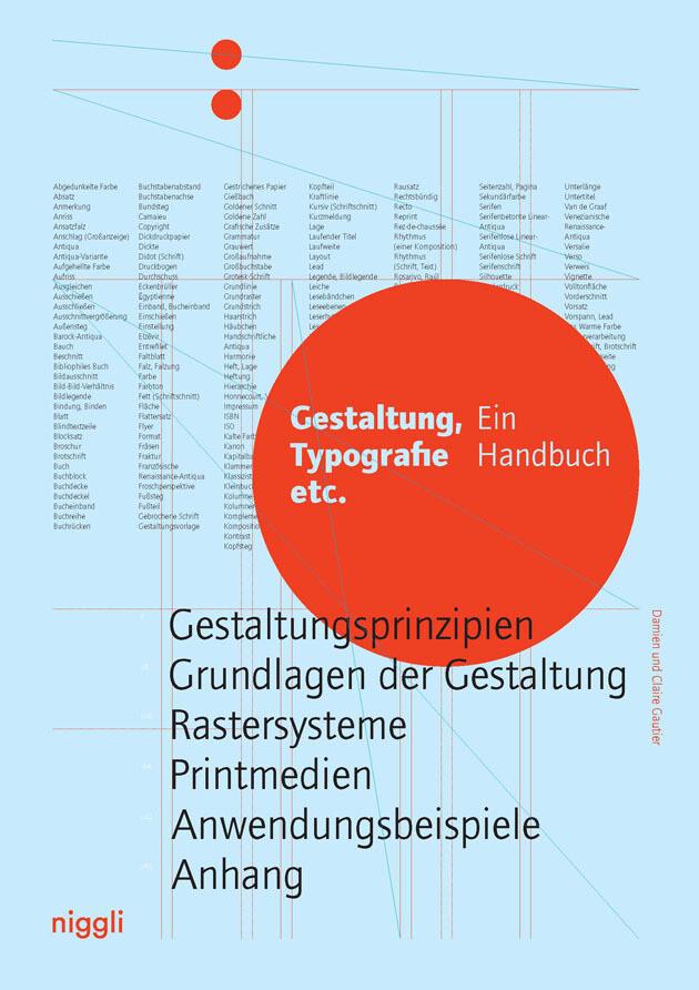 Gestaltung, Typografie etc. als Buch von Damien Gautier, Claire Gautier