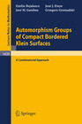 Automorphism Groups of Compact Bordered Klein Surfaces