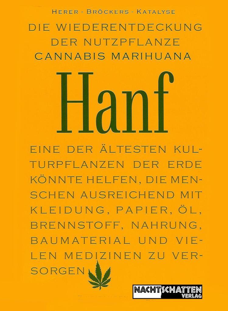 Die Wiederentdeckung der Nutzpflanze Hanf als B...