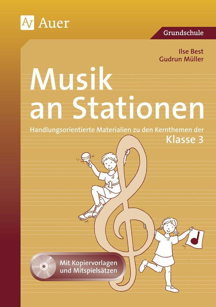 Musik an Stationen 3 als Buch