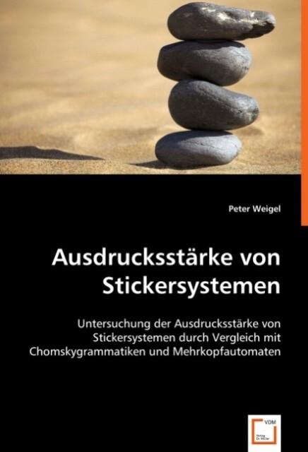 Ausdrucksstärke von Stickersystemen als Buch