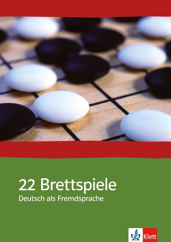 22 Brettspiele. Deutsch als Fremdsprache als Buch
