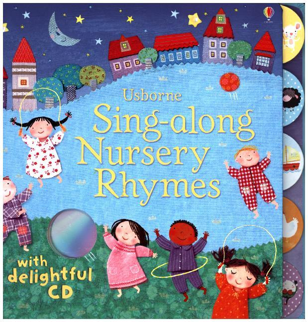 Singalong Nursery Rhymes + CD als Taschenbuch