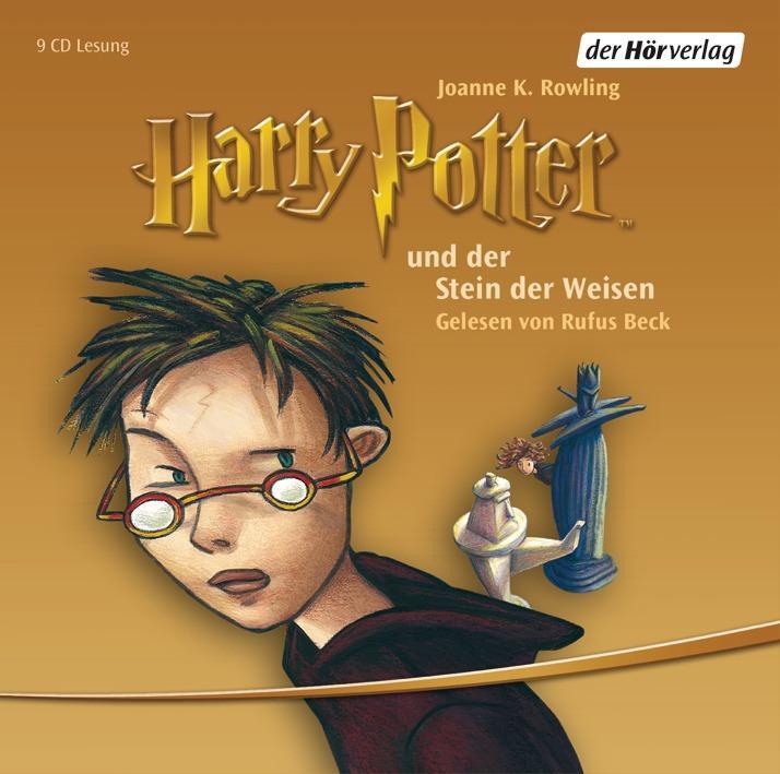 Harry Potter 1 und der Stein der Weisen als Hörbuch