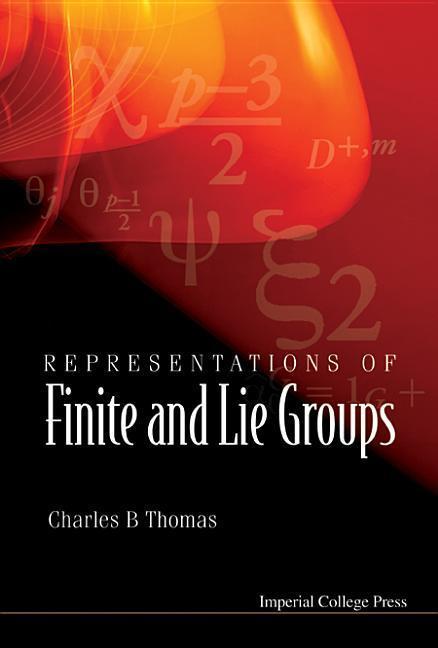 Representations of Finite and Lie Groups als Buch (gebunden)