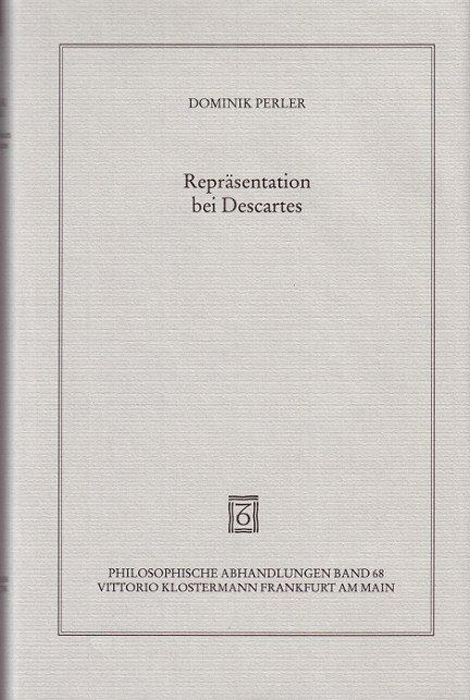 Repräsentation bei Descartes als Buch