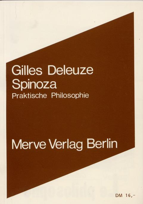 Spinoza als Buch (kartoniert)