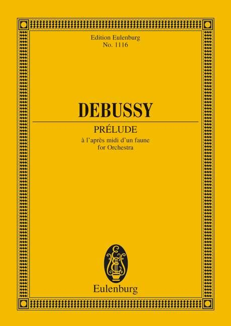 Prélude à l'après-midi d'un faune als Buch von Claude Debussy
