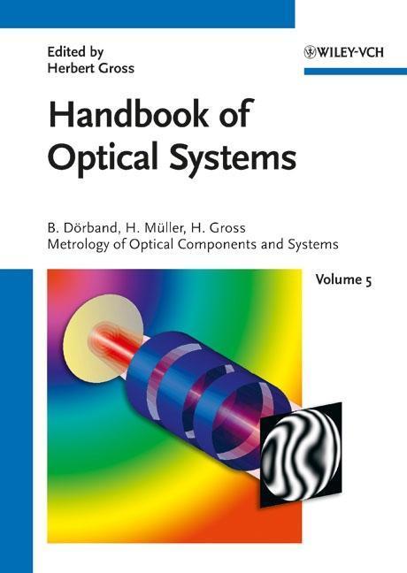 Handbook of Optical Systems 5 als Buch (gebunden)