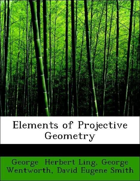 Elements of Projective Geometry als Taschenbuch von George Wentworth, David Eugene Smith, George Herbert Ling