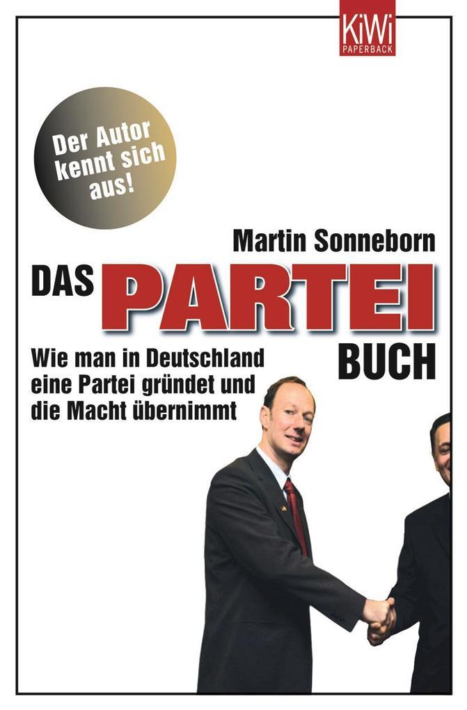 Das Partei-Buch als Taschenbuch von Martin Sonn...