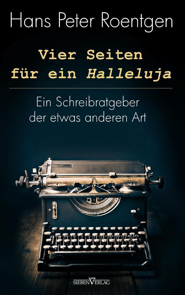 Vier Seiten für ein Halleluja als Buch