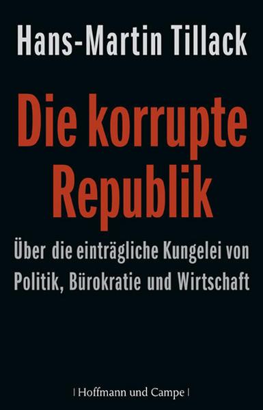 Die korrupte Republik als Buch