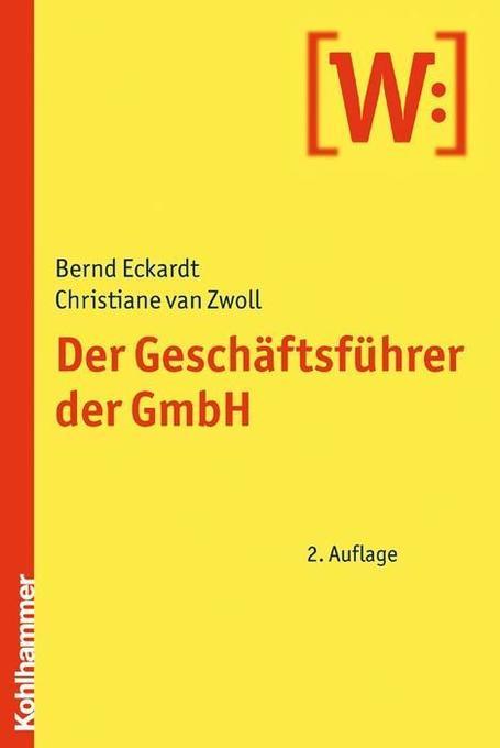 Der Geschäftsführer der GmbH als Buch