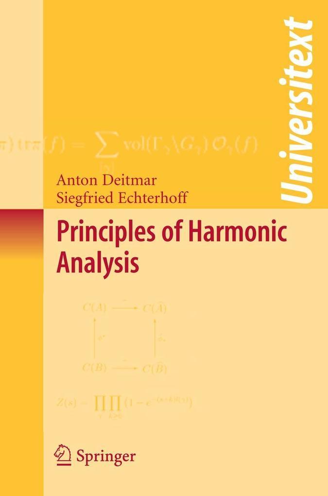 Principles of Harmonic Analysis als Buch (kartoniert)