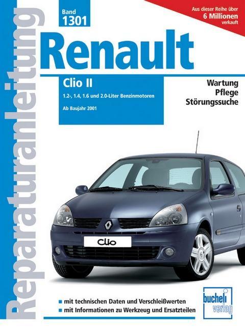 Renault Clio II als Buch (kartoniert)