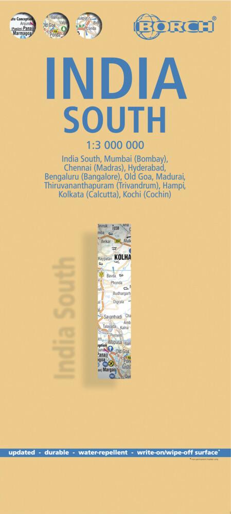 India South 1 : 3 000 000 als Buch von