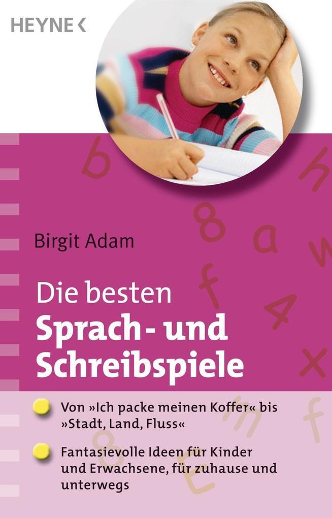 Die besten Sprach- und Schreibspiele als eBook