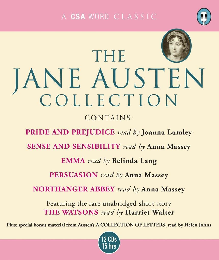 The Jane Austen Collection: Sense and Sensibility, Pride and Prejudice, Emma, Northanger Abbey, Persuasion AND The Watso