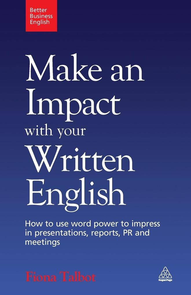 Make an Impact with Your Written English als Buch