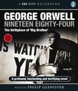 Nineteen Eighty-Four als Hörbuch CD von George Orwell