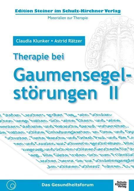 Therapie bei Gaumensegelstörungen 2 als Buch