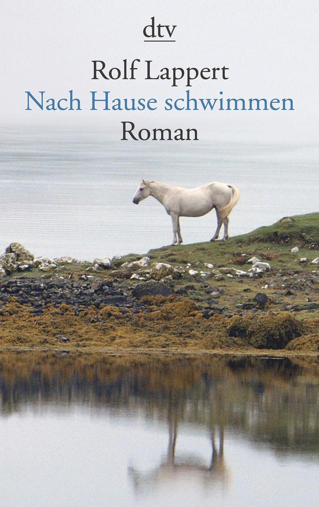 Nach Hause schwimmen als Taschenbuch von Rolf Lappert