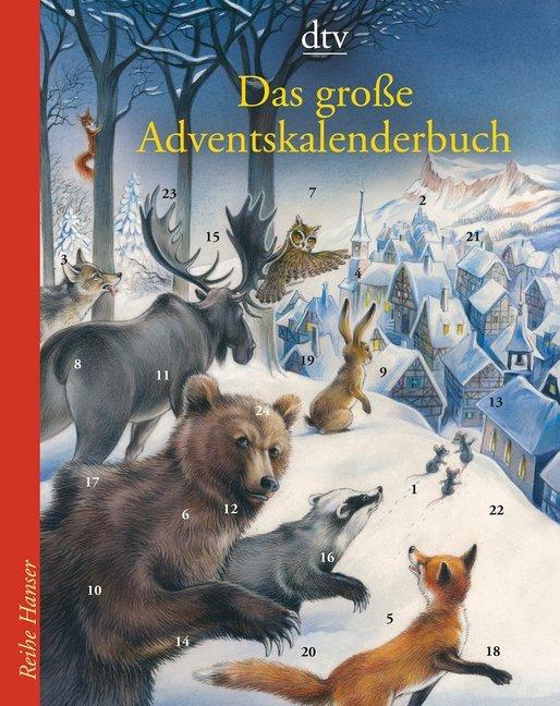 Das große Adventskalenderbuch als Taschenbuch von Anu Stohner
