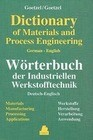 German-English Dictionary of Materials and Process Engineering