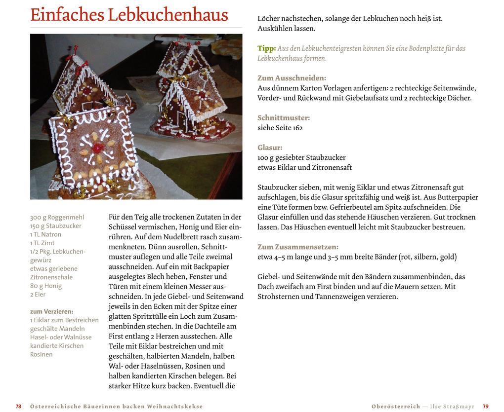 Weihnachtskekse Buch.österreichische Bäuerinnen Backen Weihnachtskekse