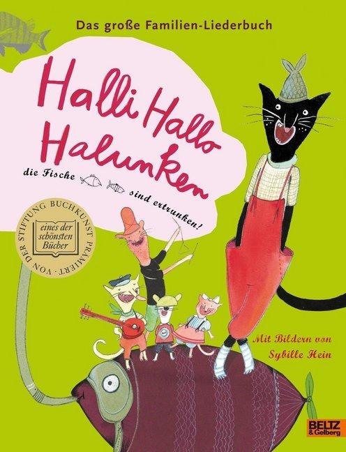 Halli Hallo Halunken, die Fische sind ertrunken! als Buch