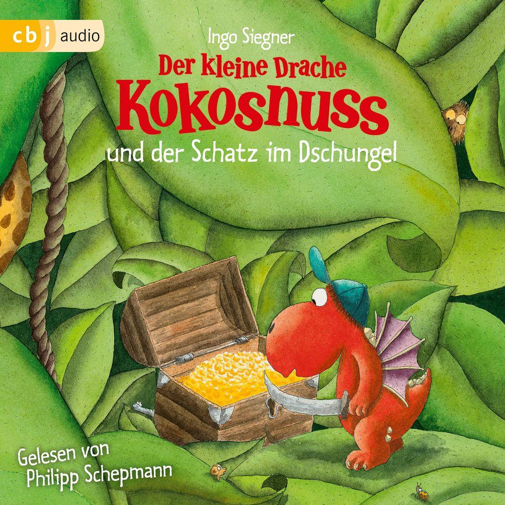 Der kleine Drache Kokosnuss und der Schatz im Dschungel als Hörbuch Download