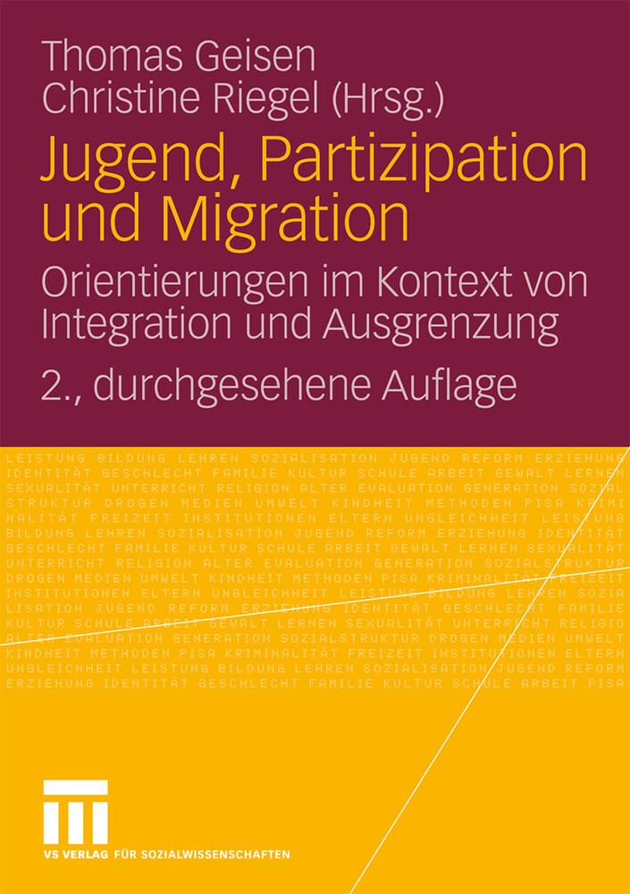 Jugend, Partizipation und Migration als Buch von