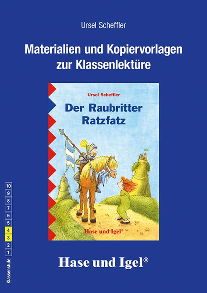 Der Raubritter Ratzfatz. Begleitmaterial als Buch