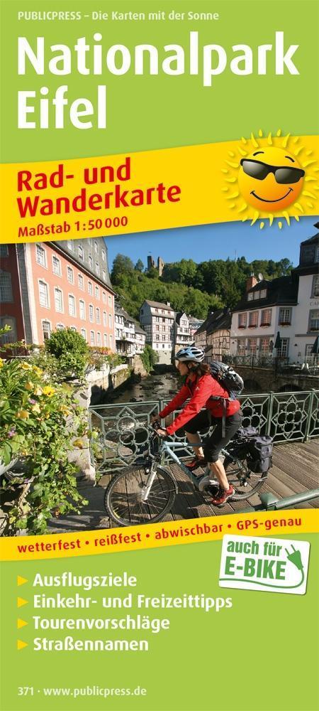 Nationalpark Eifel 1 : 50 000 Rad- und Wanderka...
