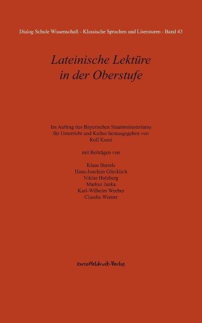 Lateinische Lektüre in der Oberstufe als Buch