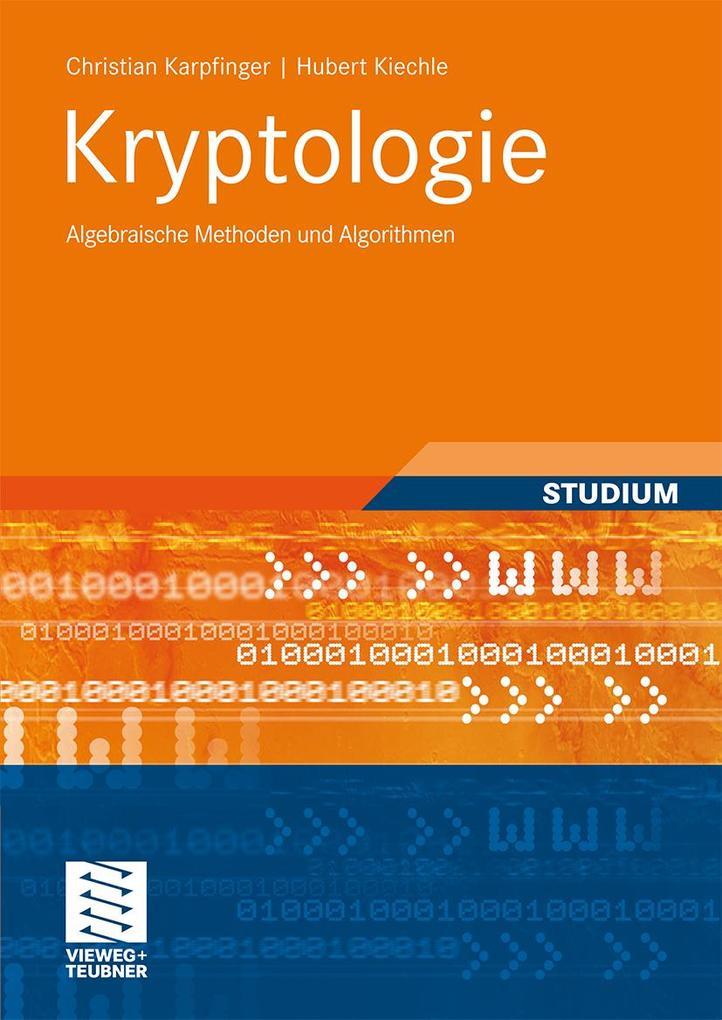Kryptologie als Buch
