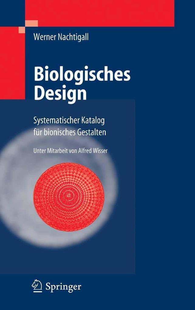 Biologisches Design als eBook