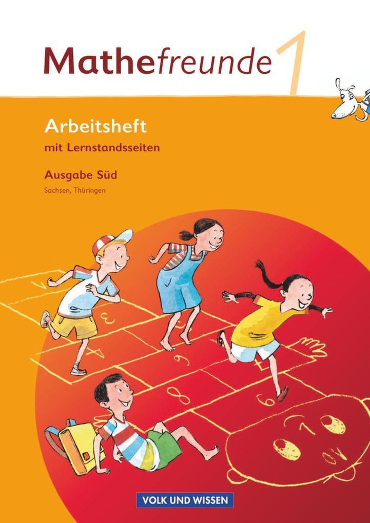 Mathefreunde 1. Schuljahr. Süd. Arbeitsheft. Sachsen, Thüringen als Buch (geheftet)