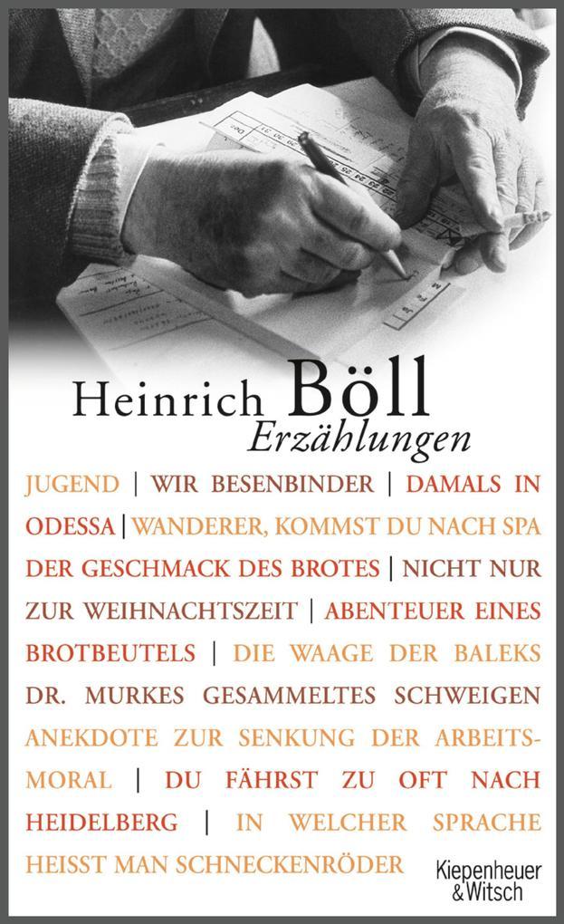 Erzählungen als eBook von Heinrich Böll