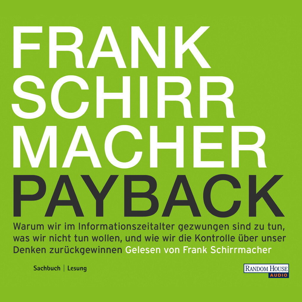 Payback als Hörbuch Download