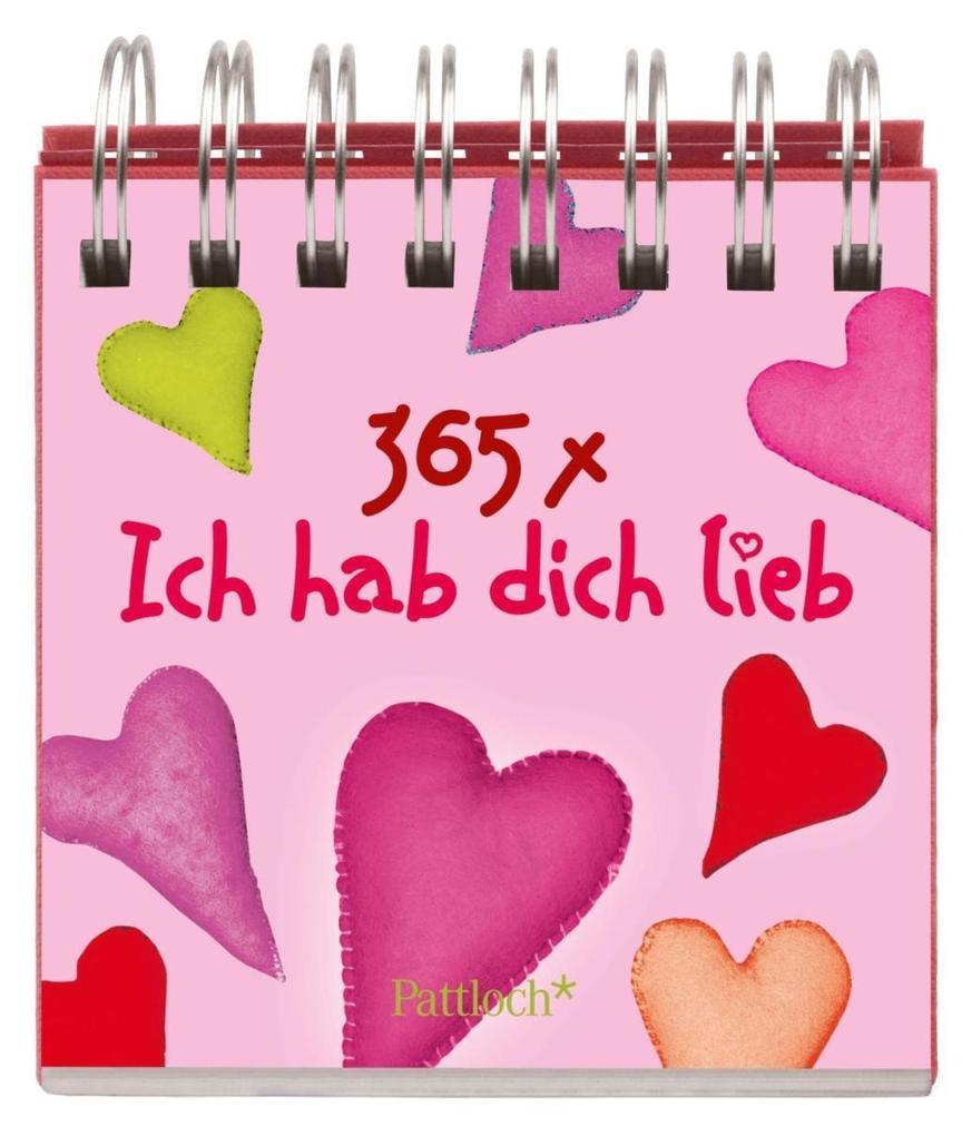 365-mal Ich hab dich lieb als Buch