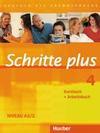 Schritte plus 4. Kursbuch + Arbeitsbuch