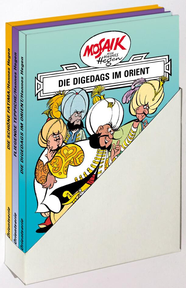 Hegen, H: Die Digsdas/Orient Serie 1-3 als Buch von Hannes Hegen