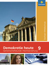 Demokratie heute 9. Schülerband. Sachsen