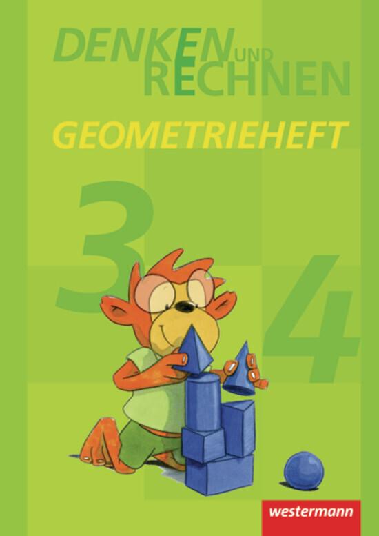 Denken und Rechnen. Geometrieheft Klasse 3 / 4. als Buch